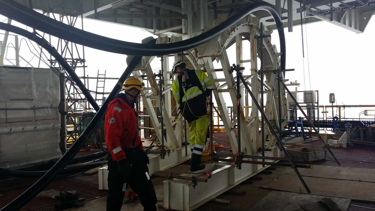 rope access is used in many ways for Offshore Technology