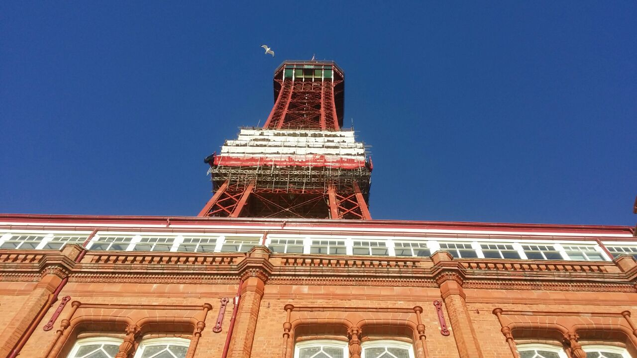 Blackpool Tower Cleaning and Restoration.