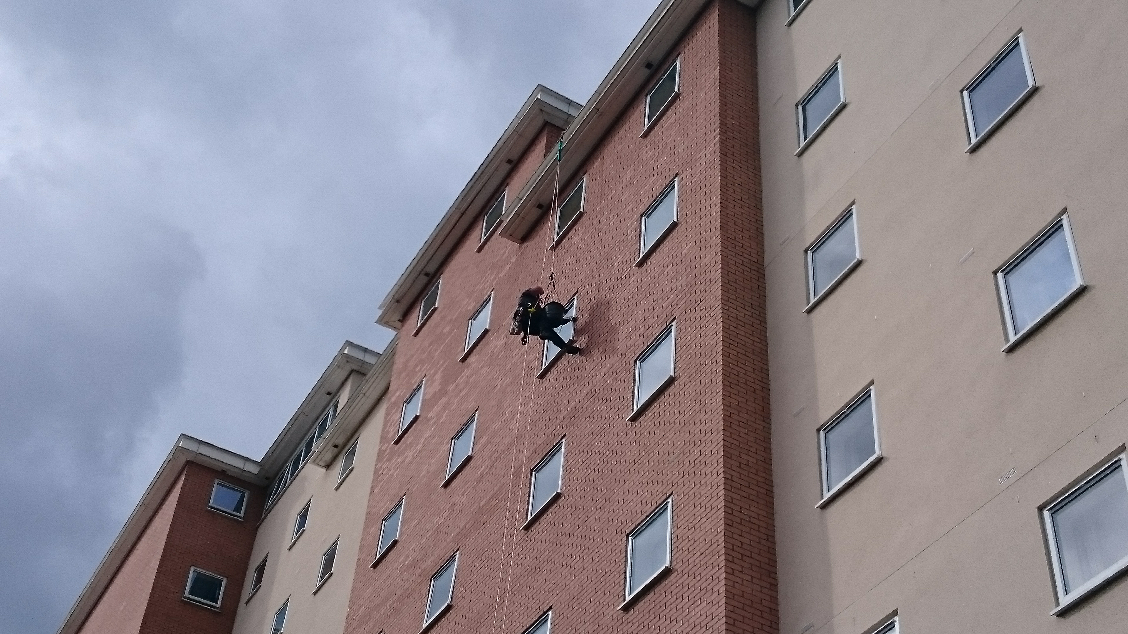 Student Accommodation Window Cleaning - Preston